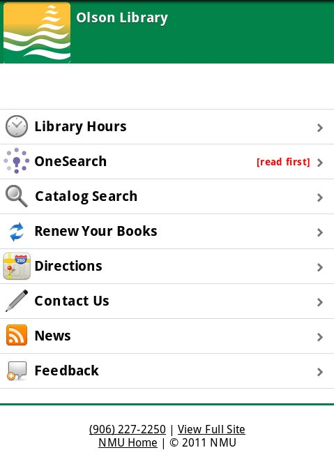 library mobile image