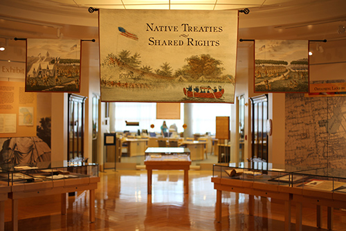 Native Rights - Shared Treaties Exhibit